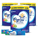 3-Pack Go & Grow Milk Based Toddler Drink + 2 On-The-Go Stickpacks