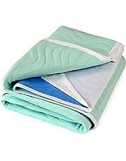 Comunidad 85x135cms con alas, 4 litros, cojín de cama absorbente impermeable lavable Doble Cama