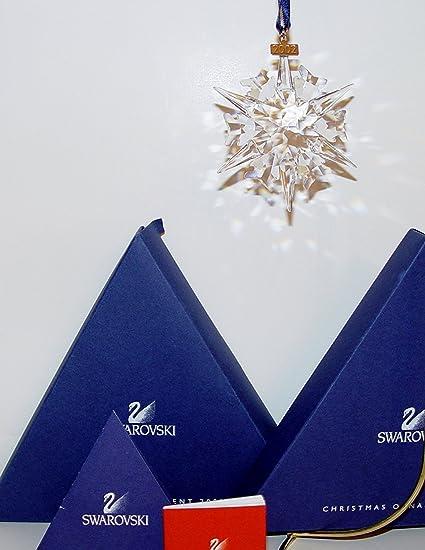 Swarovski Christmas Ornament 2002 Limited Edition #288802 - Amazon.com: Swarovski Christmas Ornament 2002 Limited Edition