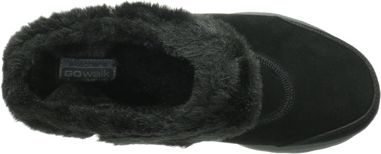 skechers go walk fur lined