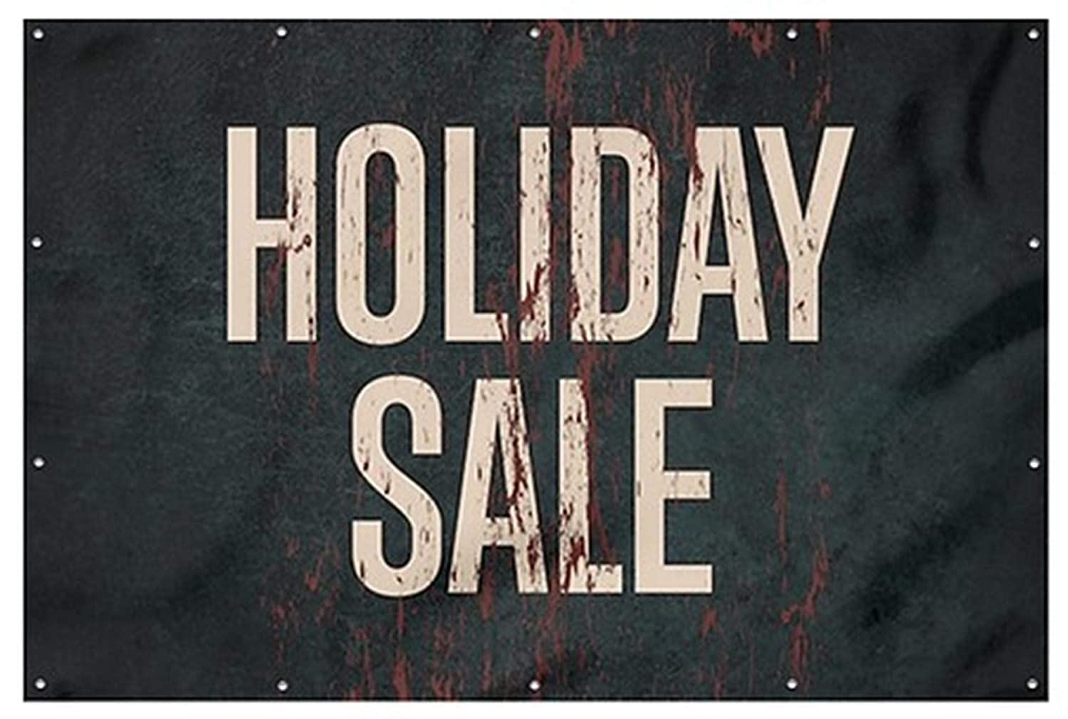 Holiday Sale Ghost Aged Rust Wind-Resistant Outdoor Mesh Vinyl ...