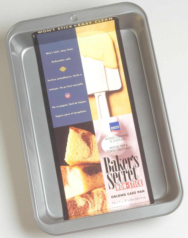 Amazon.com: Bakers Secret 1114424 Bakers Secret® Oblong Pan: Home & Kitchen