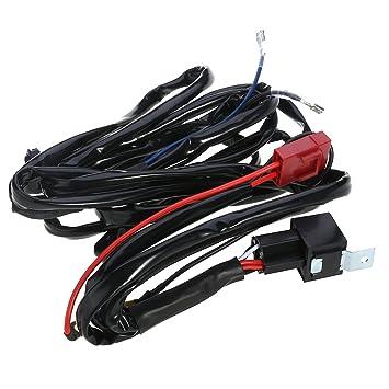 winomo-Adapter für LED Lichtleiste 12 V 40 A Relais Sicherung ...