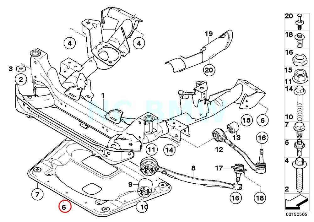 Amazon Com Bmw Genuine Reinforcement Plate Automotive
