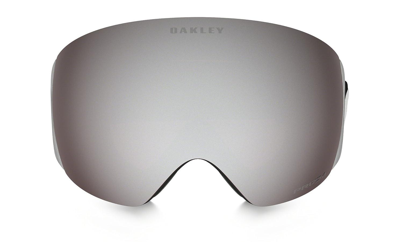 40919de56c8d3 Oakley Flight Deck XM - Gafas de esquí snowboard, Negro Mate (Matter Black)  - (con logo blanco, banda negra y lente prizm negro iridio), Talla Única   ...