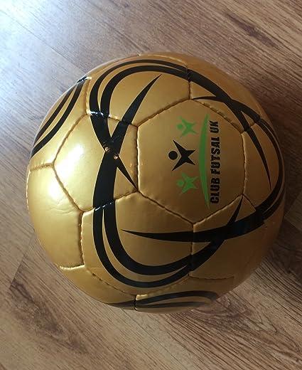 ClubFutsalUK 10 x balón de fútbol Sala, Talla 3, Color Blanco ...