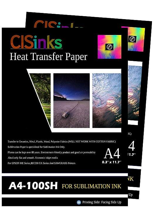 Amazon.com: CISinks - Papel de transferencia de calor para ...