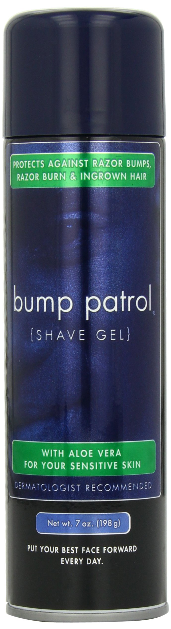 Bump Patrol Shave Gel with Aloe Vera, 7 Ounce