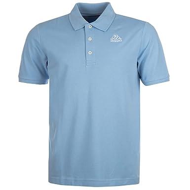 39fcbbb784cd Kappa Mens Mens Omini Polo Shirt in Sky Blue - S: Kappa: Amazon.co.uk:  Clothing