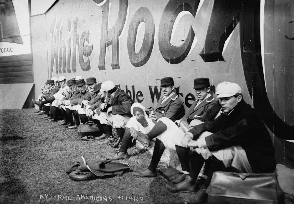 Opening日、フィラデルフィアAのat Nyヤンキース( Yankees )、野球フォト# 4 12 x 18 Signed Art Print LANT-5499-708   B07B2BBH9N