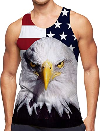 Ahegao Mens Tops Tank 3D Printed Undershirt Funny Jersey Ringer Casual Summer Sleeveless Shirts