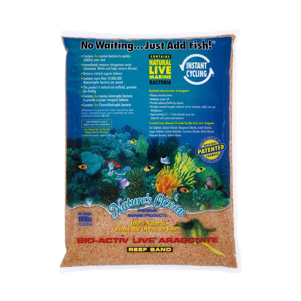 Worldwide Imports AWWA10781 Live Aragonite Sand, 20-Pound, Gold by Worldwide Imports