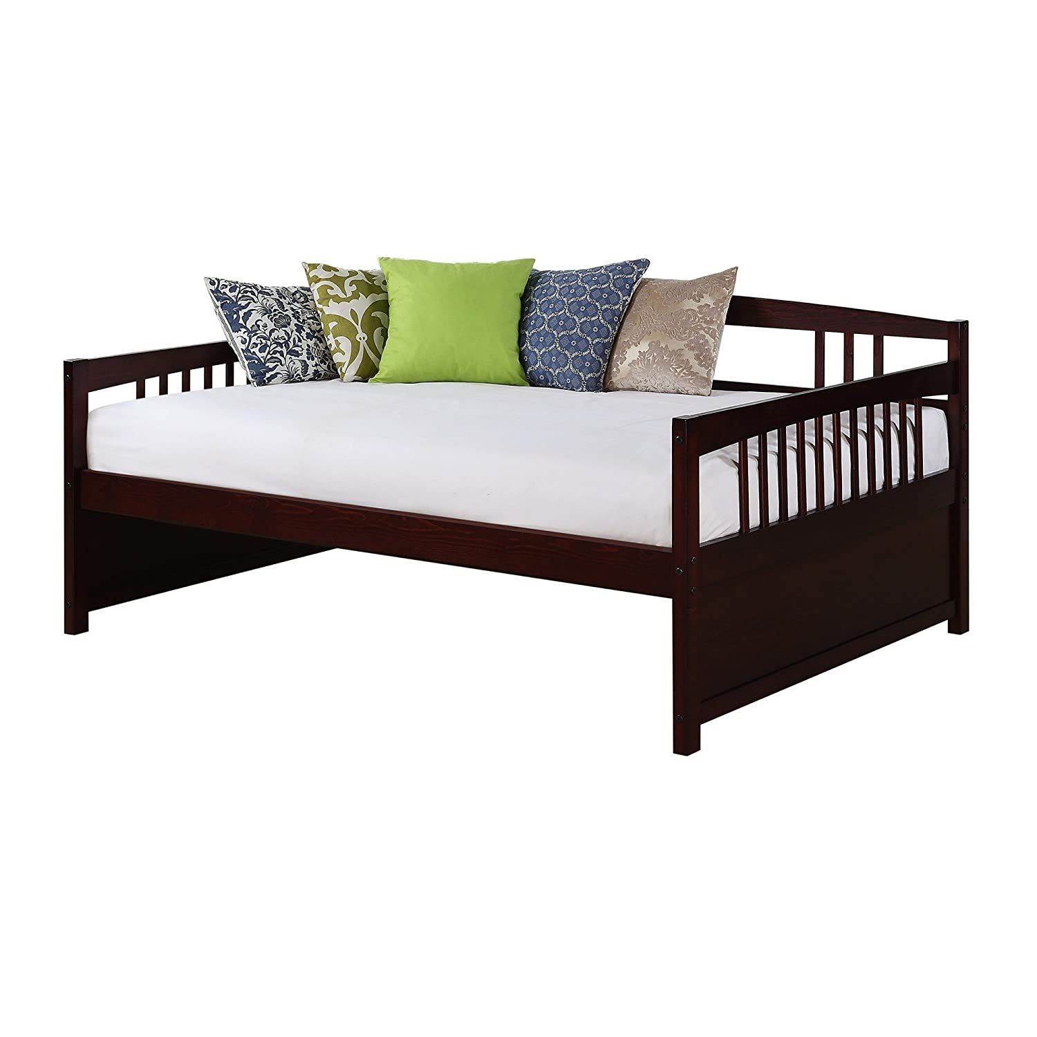 Amazon.com: Dorel Living Morgan Full Daybed, Espresso: Kitchen & Dining