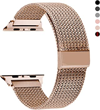 Rxcoo Magnetic Mesh Band for Iwatch