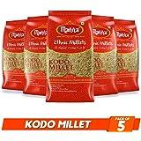 Manna Kodo Millet 2.5kg (Pack of 5 - 500g Each) - Kodra / Varagu / Arikelu / Hark / Varigu