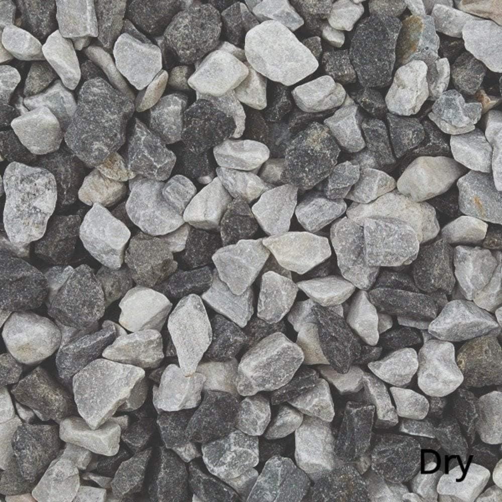Long Rake Spar Black Ice 20mm 20kg Decorative Aggregate Gravel