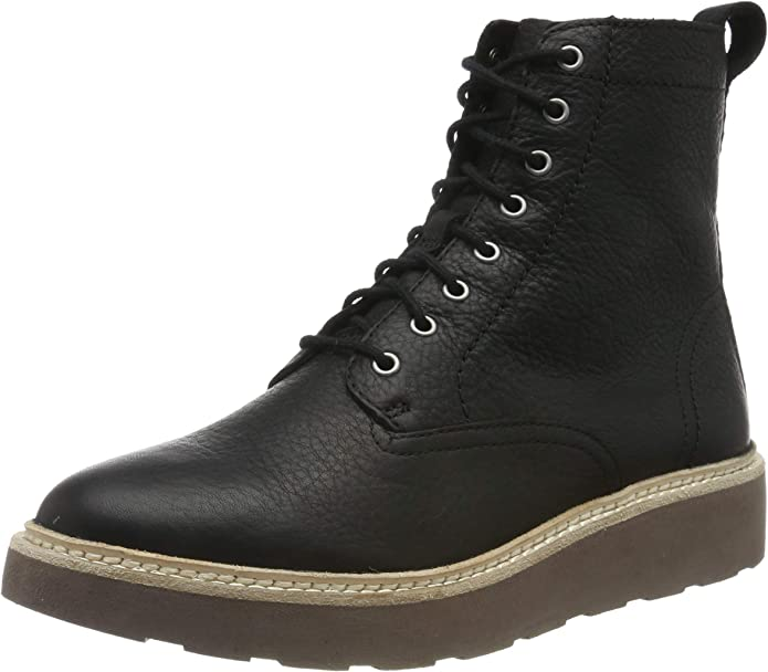 TALLA 39 EU. Clarks Trace Pine, Botas Slouch Mujer