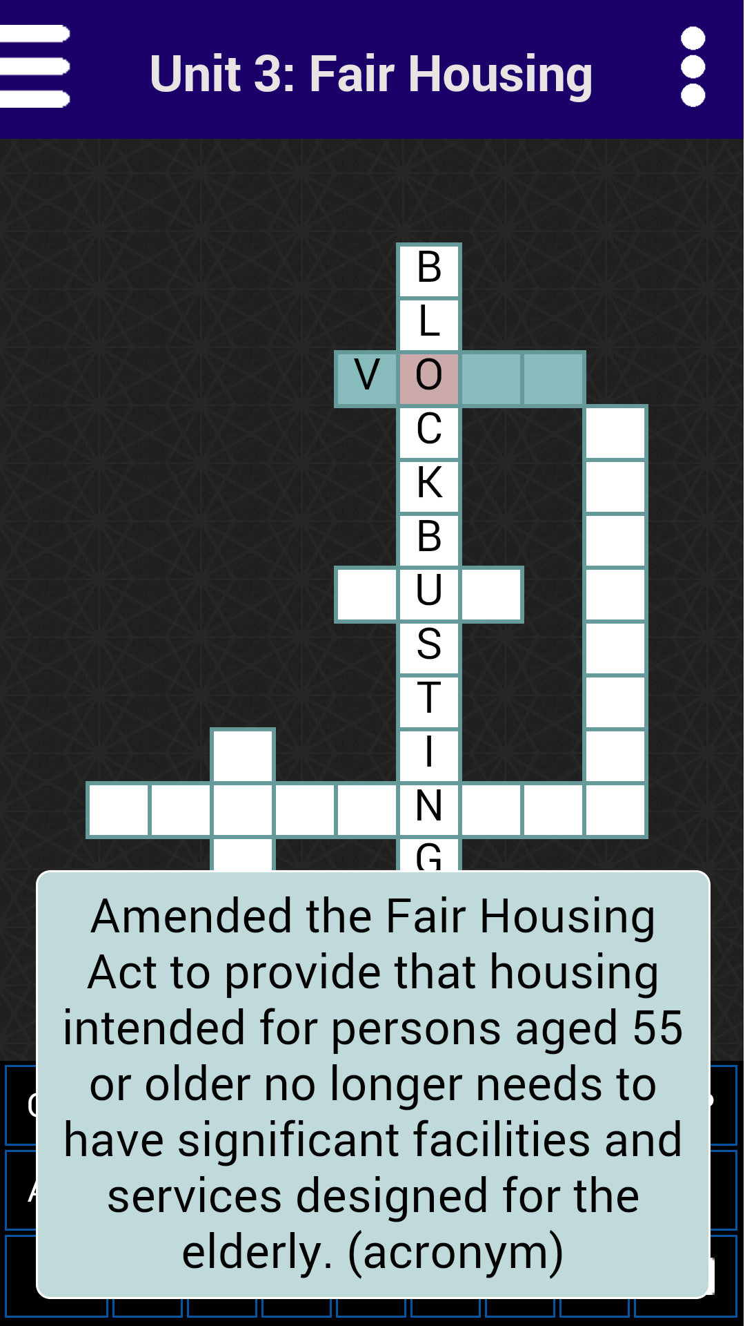 Amazon Kaplan Real Estate Crossword Puzzles Appstore For Android