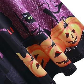 CLOOM Halloween Falda Plisada Sexy Fuera del Hombro Vestidos Sin ...