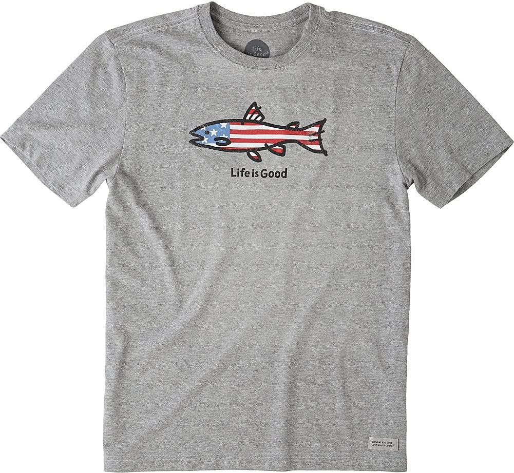 Life is Good Mens Fishing Graphic T-Shirt Collection