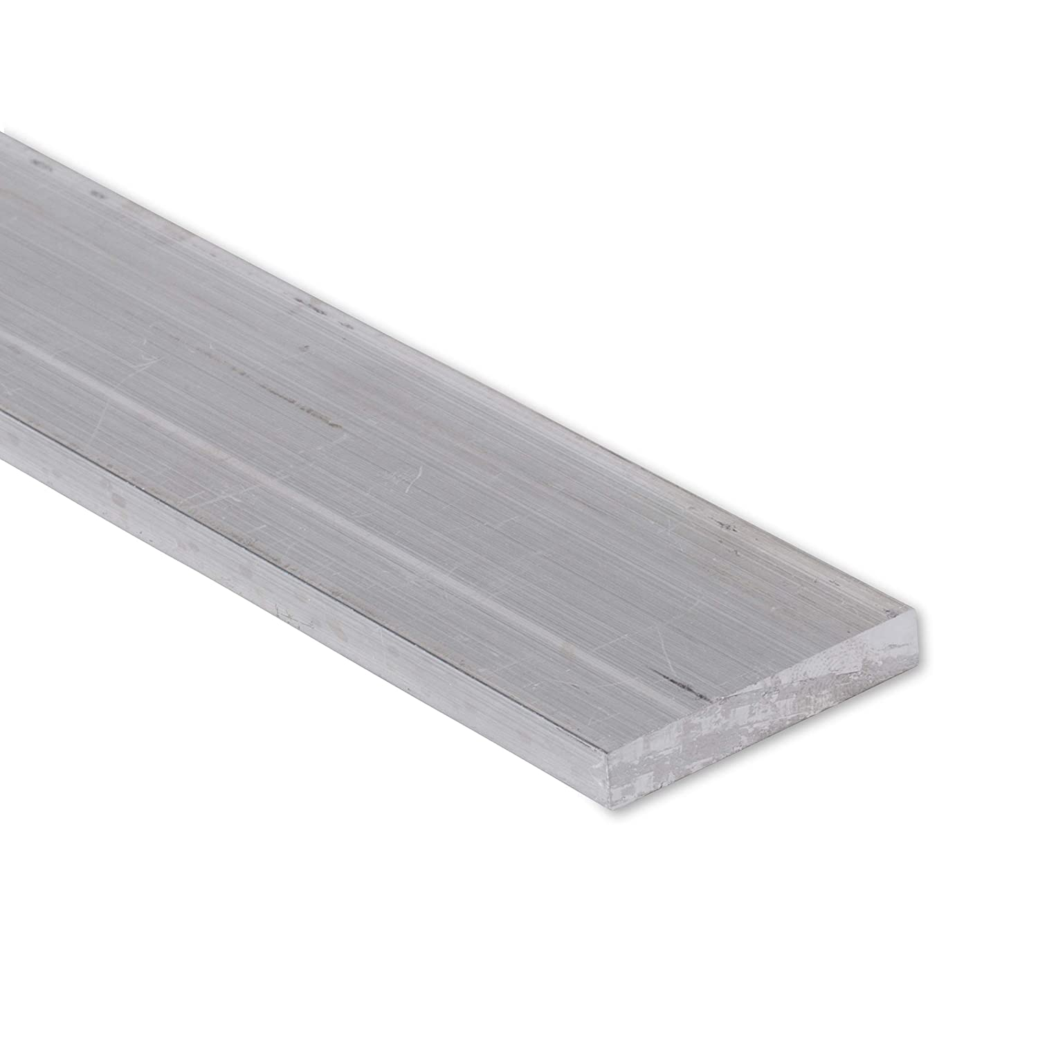 "T6511 Mill Stock 1/"" 1/"" x 1/"" Aluminum Flat Bar 24/"" Length 6061 Square"