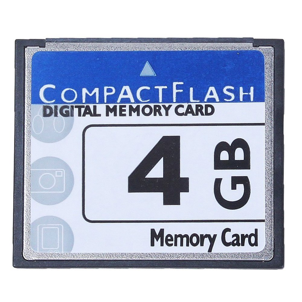 Amazon.com: SODIAL (R) 4 GB Compact Flash tarjeta de memoria ...