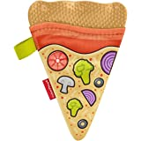 Fisher-Price Pizza Slice Teether, BPA-Free Silicone Baby Toy