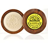 Crabtree and Evelyn West Indian Lime Shave Soap in Bowl