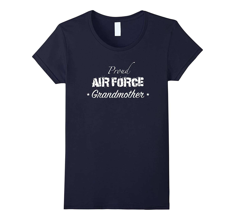 Women's Proud Air Force Grandmother Shirt-Teeae
