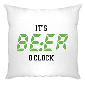 Amazon.com: ES cerveza o clock, Time To Drink. gracioso ...