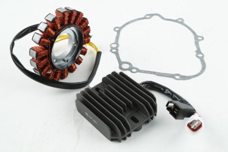 Stator & Regulator Rectifier With Gasket For Suzuki GSXR 600 GSX-R600  2006-2010
