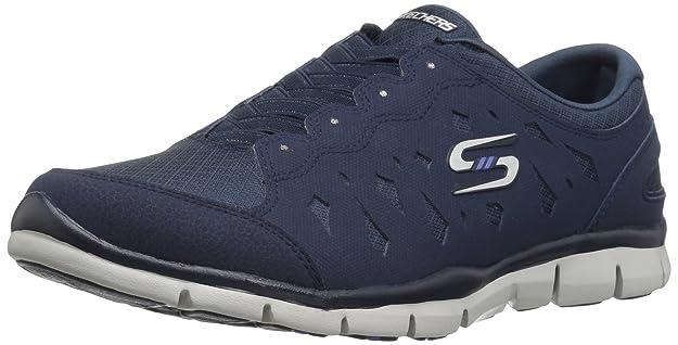 Skechers Damen Gratis-Light-Heart Slip on Sneaker, Schwarz (Black), 37 EU