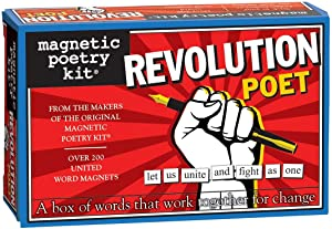 Magnetic Poetry - Revolution Poet Kit - Words for Refrigerator - Write Poems and Letters on The Fridge - Made in The USA
