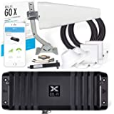 Cel-Fi GO X | The Only 100 dB Single-Carrier Cell Phone Signal Booster for Homes & Offices | Verizon, AT&T, Or T-Mobile | 2 A