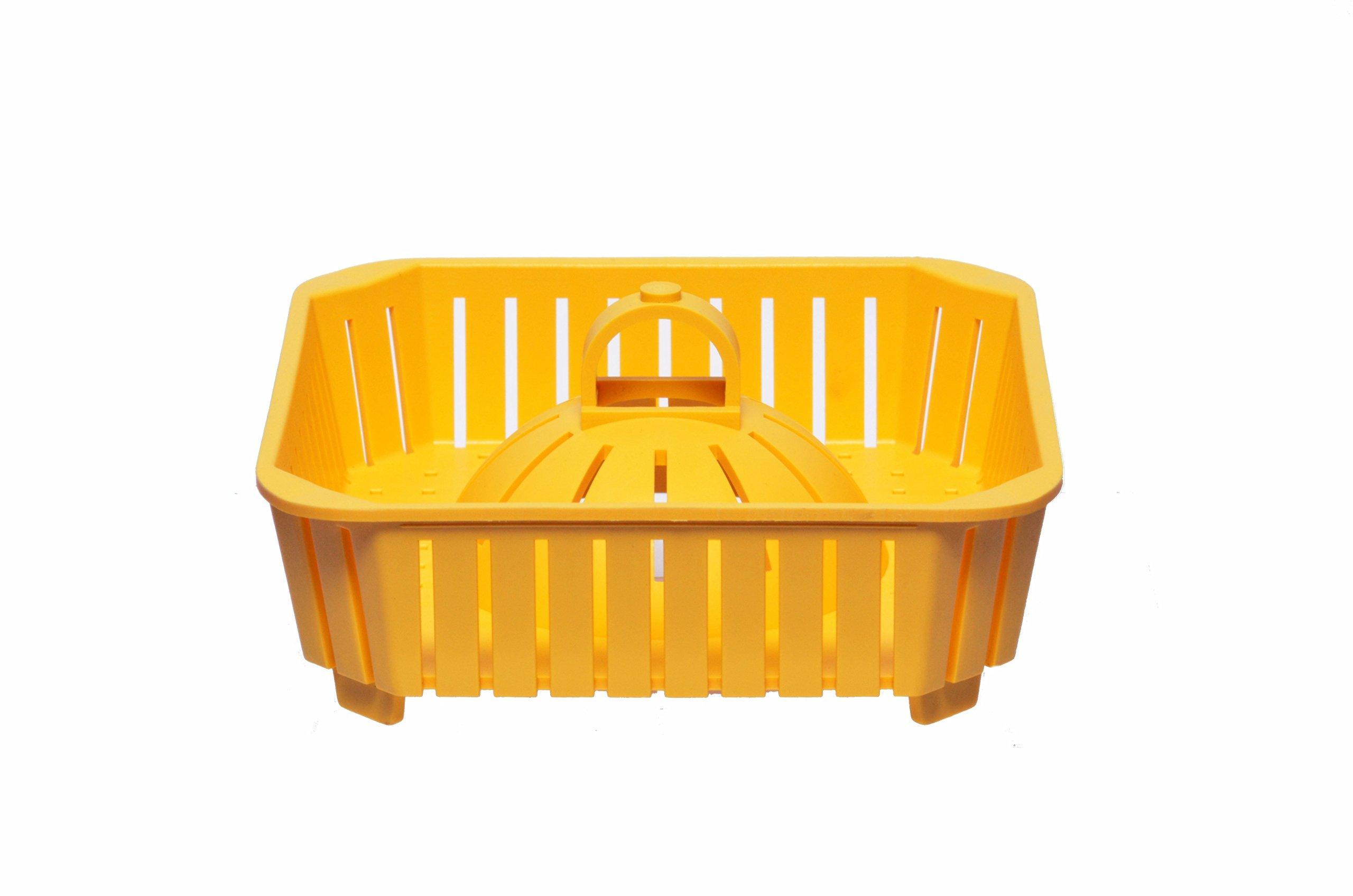 8 Inch PermaDrain Safety Strainer Basket. Fits 12 Inch Floor Sinks. For Zurn, Oatey, Wade, Josam, Smith, and Other Floor Sink Brands.