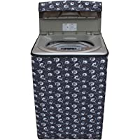 Dream Care Grey Printed Washing Machine Cover For Samsung Top Load Wa65H3H5Qrp 6.5Kg Model