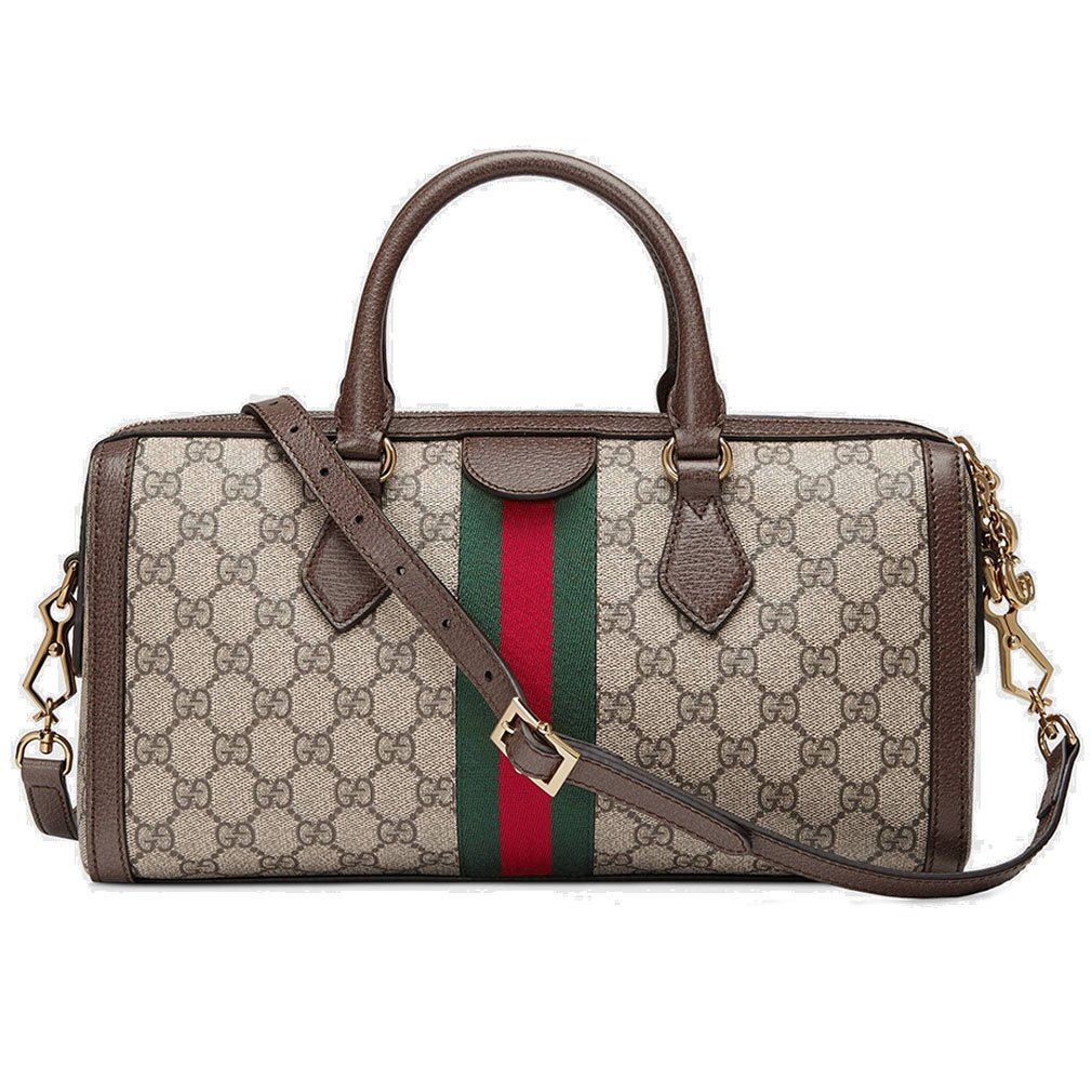 7d402b16f210 Amazon.com: Gucci Ophidia GG Medium Top Handle Bag Handbag Article: 524532  K05NB 8745 Made in Italy: Shoes