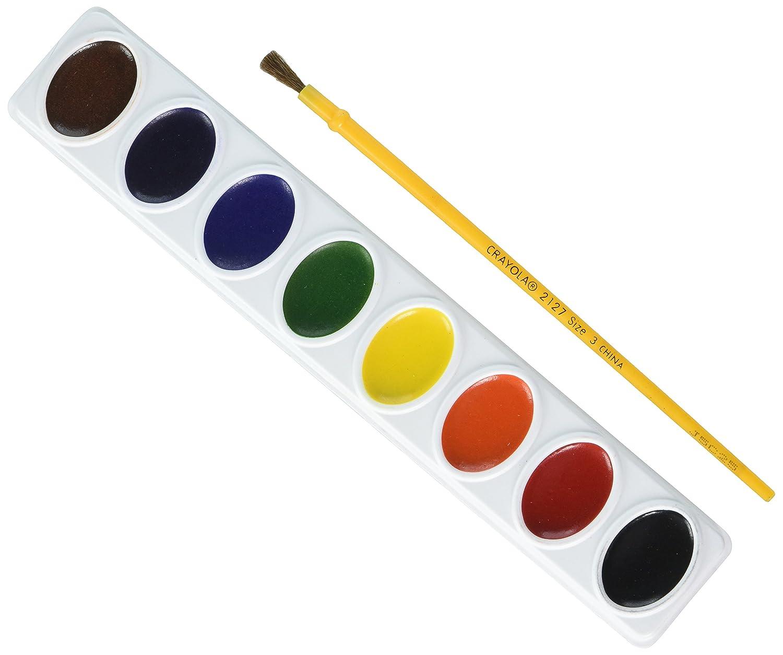 8 Assorted Colors Crayola Artista Ii 8-Color Watercolor Set