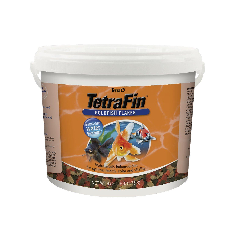 TetraFin Balanced Diet Goldfish Flake Food, 4.52-Pound
