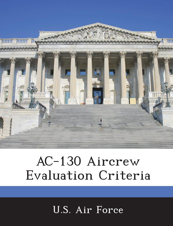 Download AC-130 Aircrew Evaluation Criteria PDF
