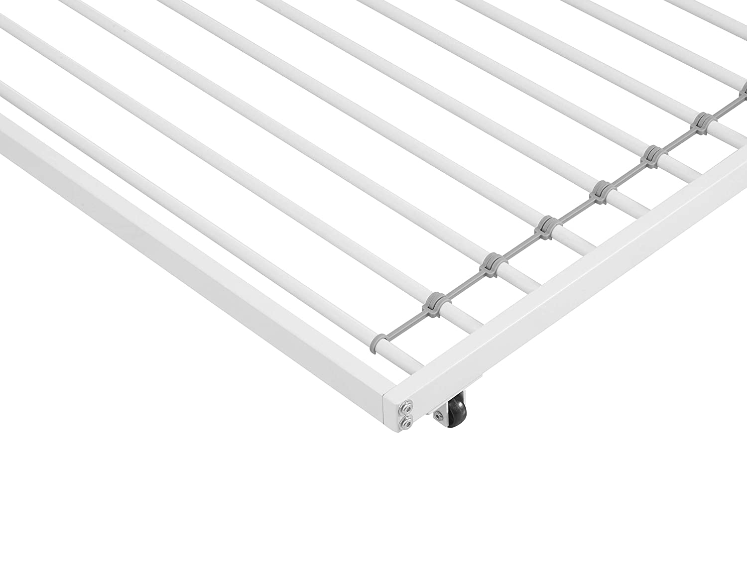 Black Walker Edison Twin Roll-Out Trundle Bed Frame