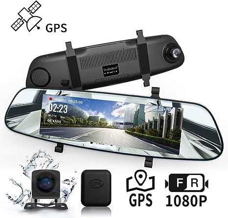4.3/'/' Full HD 1080P KFZ LCD Auto DVR Dash Cam Rückspiegel Kamera Video Recorder
