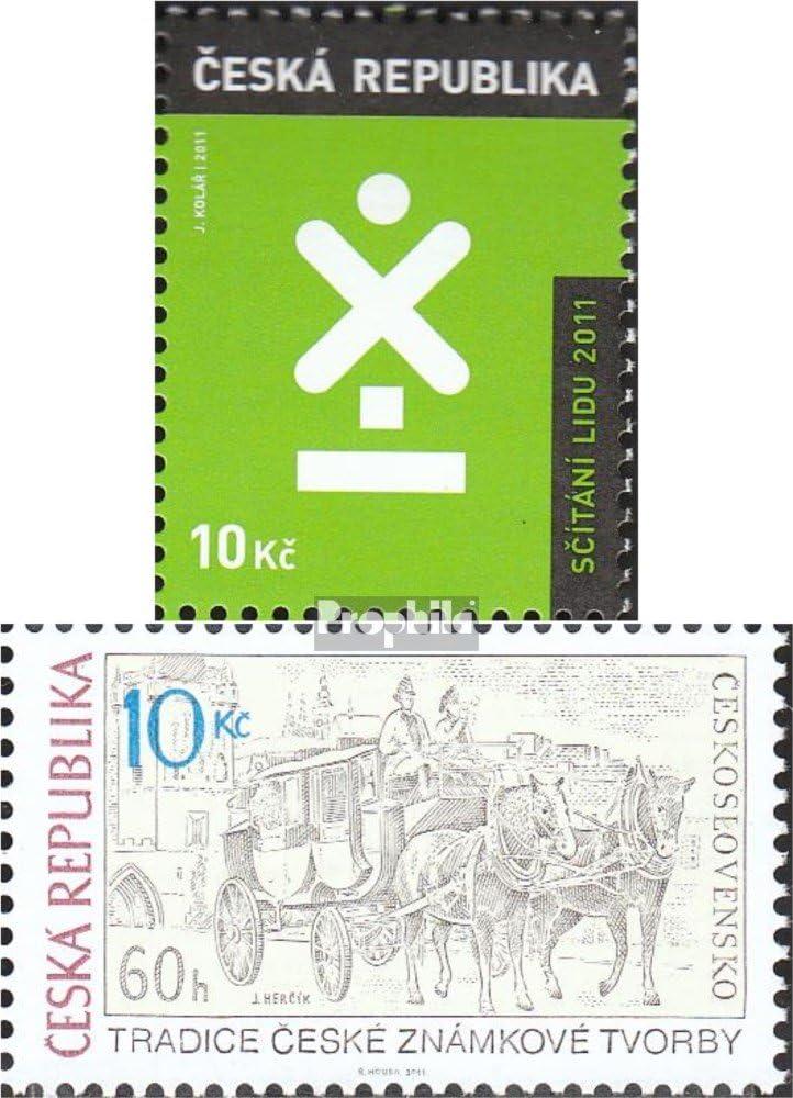 República Checa Michel.-No..: 665,666 (Completa.edición.) 2011 ...