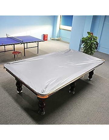 Impermeabile Oxford Panno Biliardo Tavolo da Biliardo Cover con Coulisse per Snooker Biliardo Tavolo 245 x140 x20cm Tavolo da Biliardo Cover