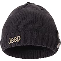 Jeep Off Road Beanie Knit Hat Skull Cap Men White