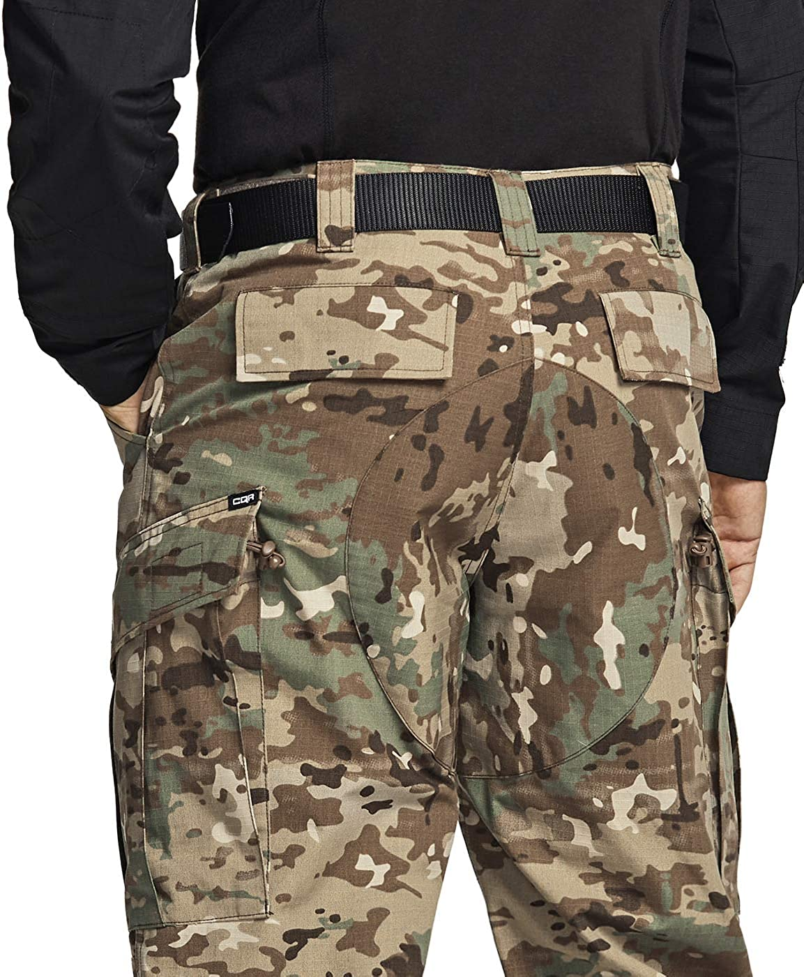 Military Combat BDU//ACU Cargo Pants Water Repellent Ripstop Work Pants CQR Mens Tactical Pants Hiking Outdoor Apparel