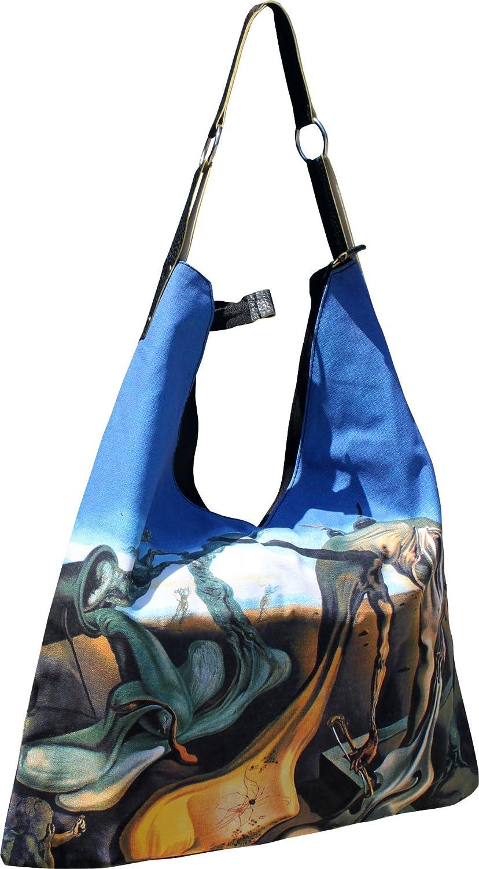 RaanPahMuang Ladies Fashion V Bag Daddy Longlegs of the Evening by Dali