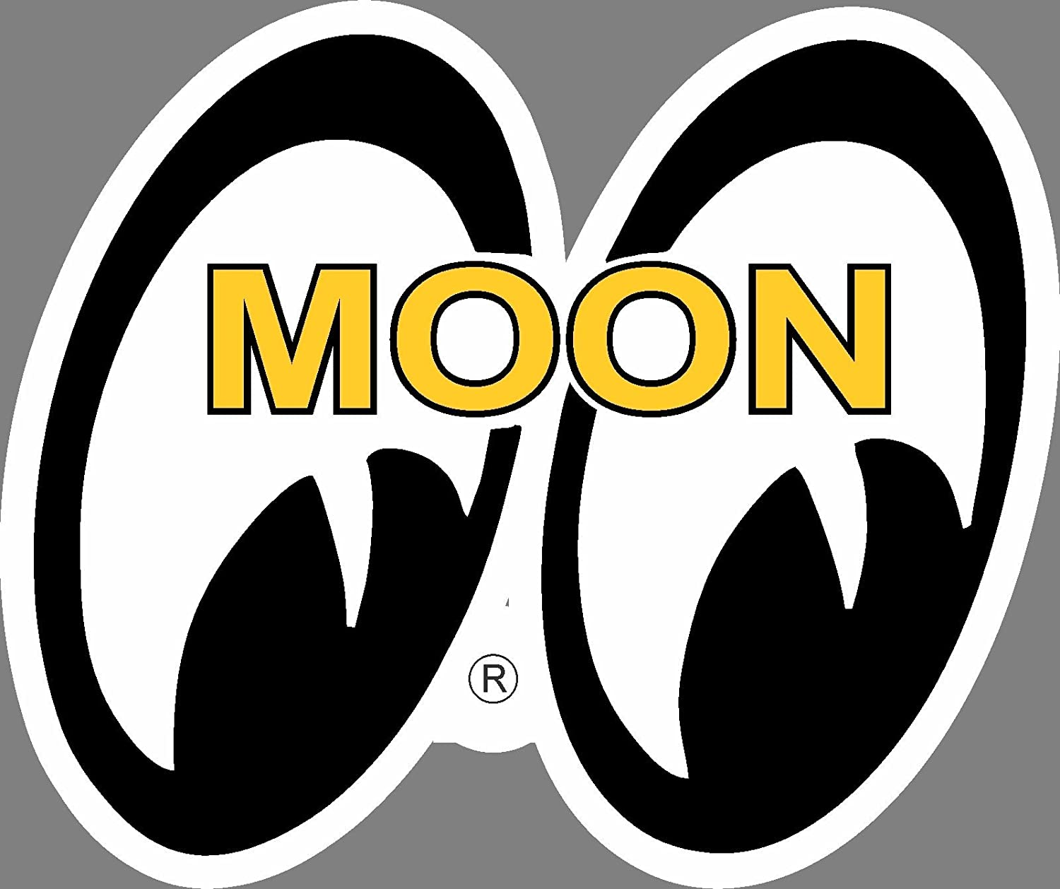 Moon Equipped Hot Rod Car Parts Advertising Sign  T*