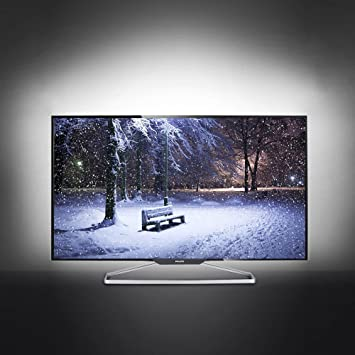 amazon com tv backlight usb powered led bias lighting for desktop