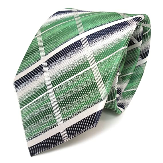 TigerTie diseñador corbata de seda - verde verde esmeralda royal ...